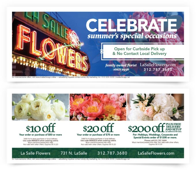 lasalle flowers special offers