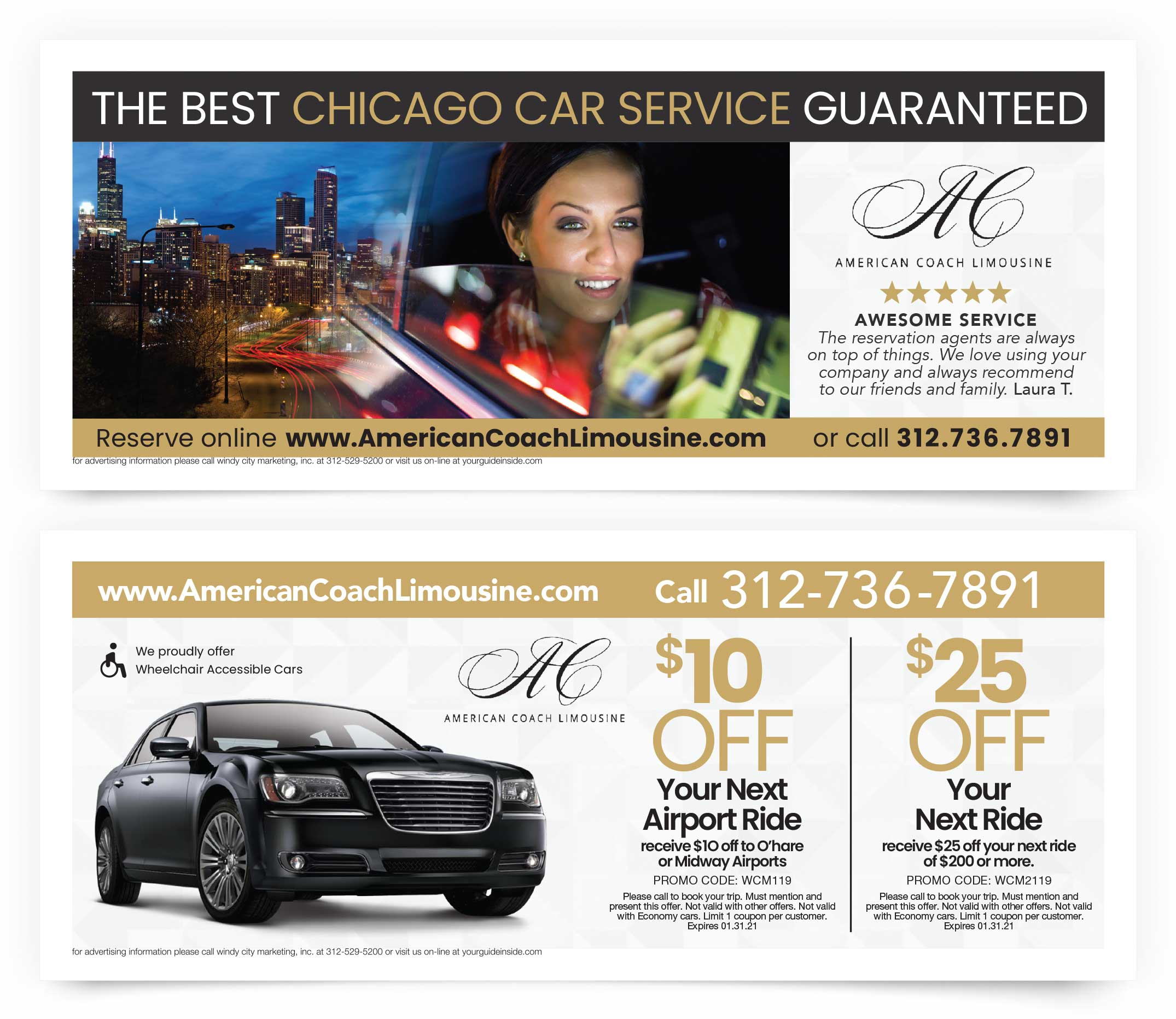American Coach Limousine Coupon