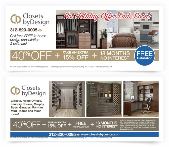 Closets By Design Chicago Coupons