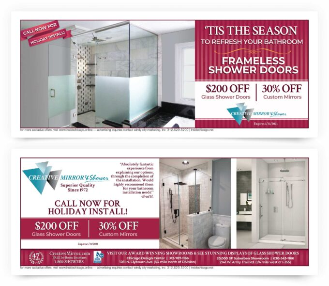 Creative Mirror & Shower Chicago Coupons