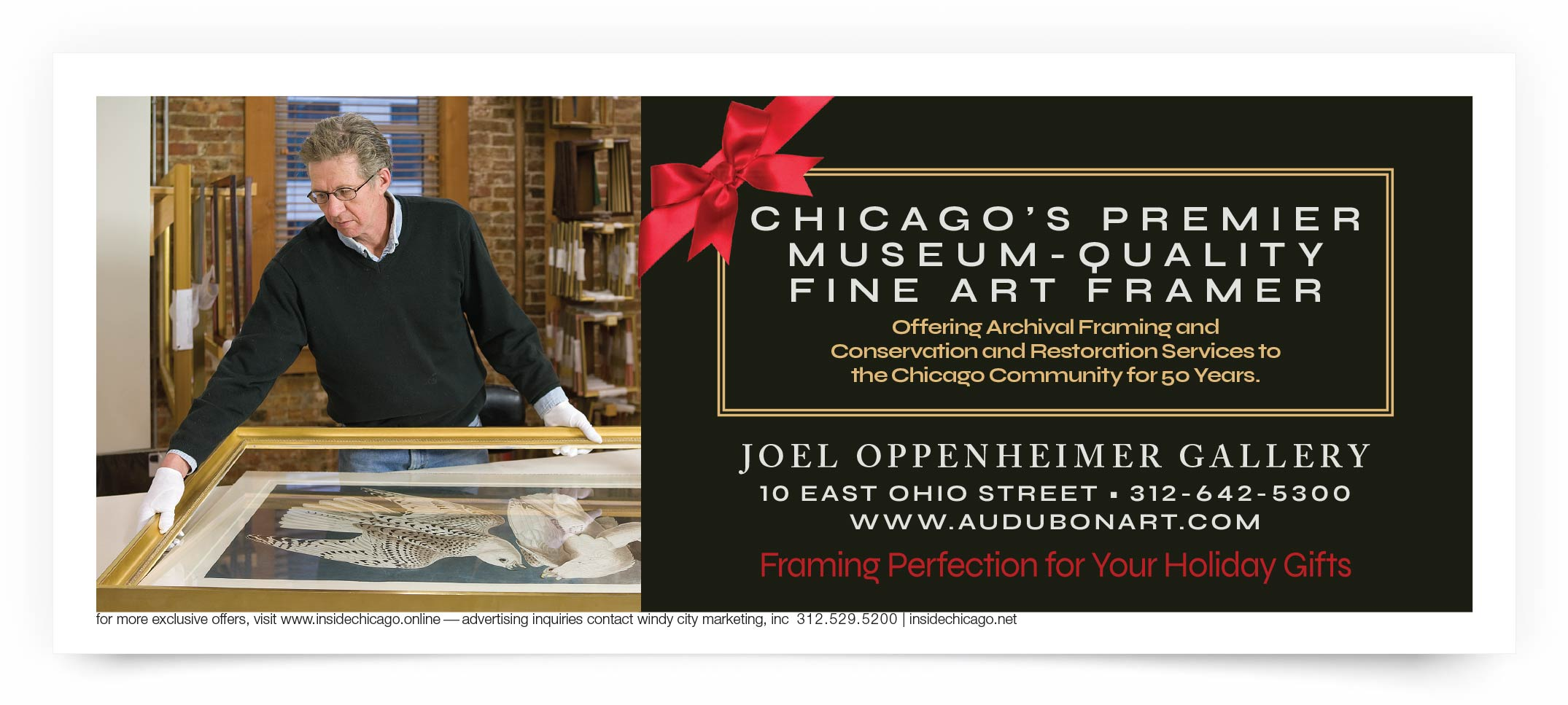 Joel Oppenheimer Gallery Chicago Coupon Intro