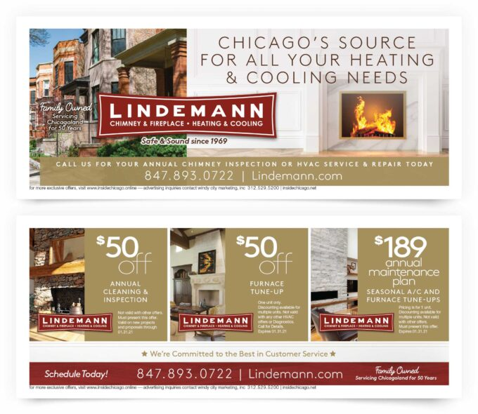 Lindemann Chimney & Fireplace Chicago Coupons