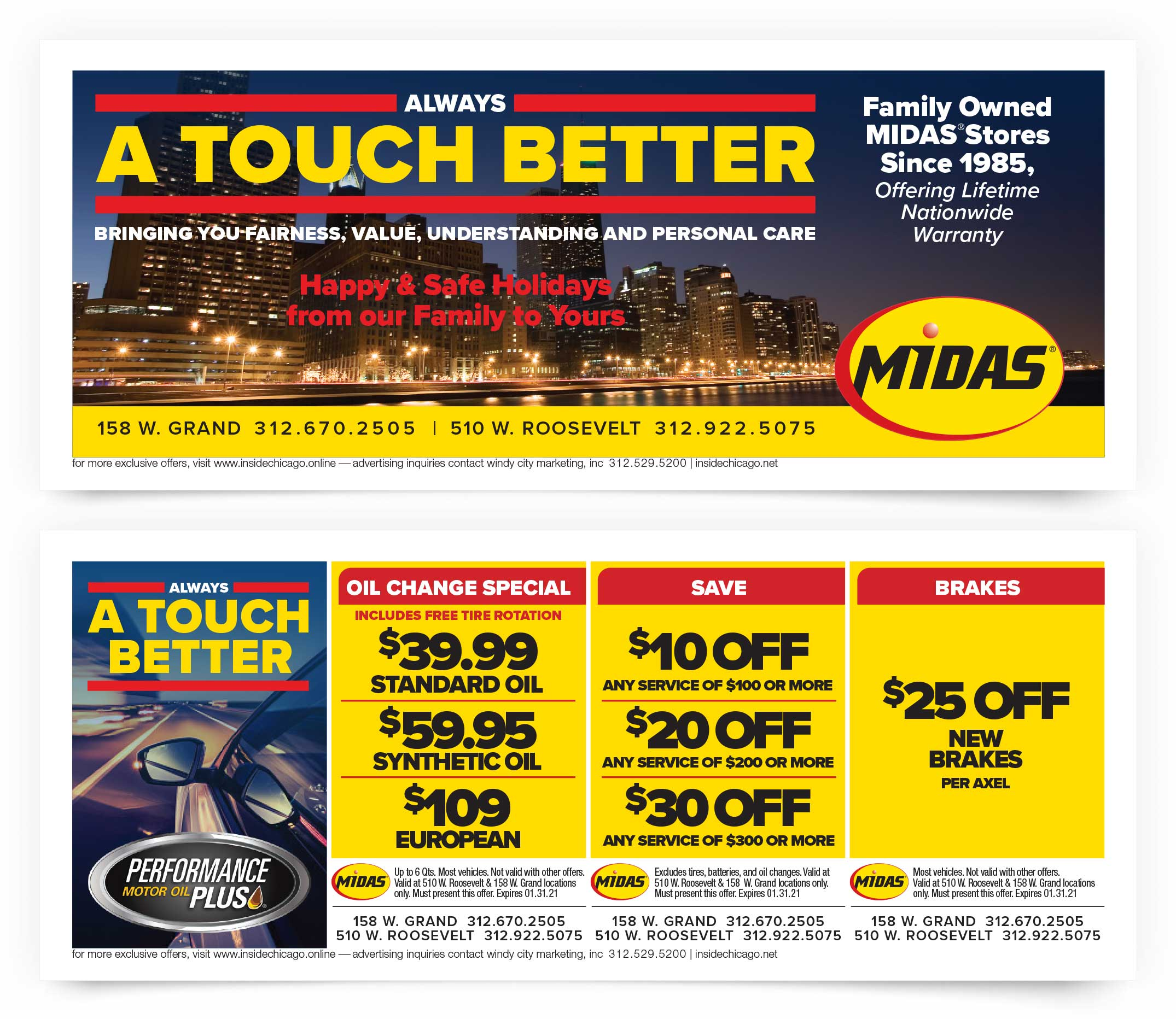 Midas Chicago Coupons