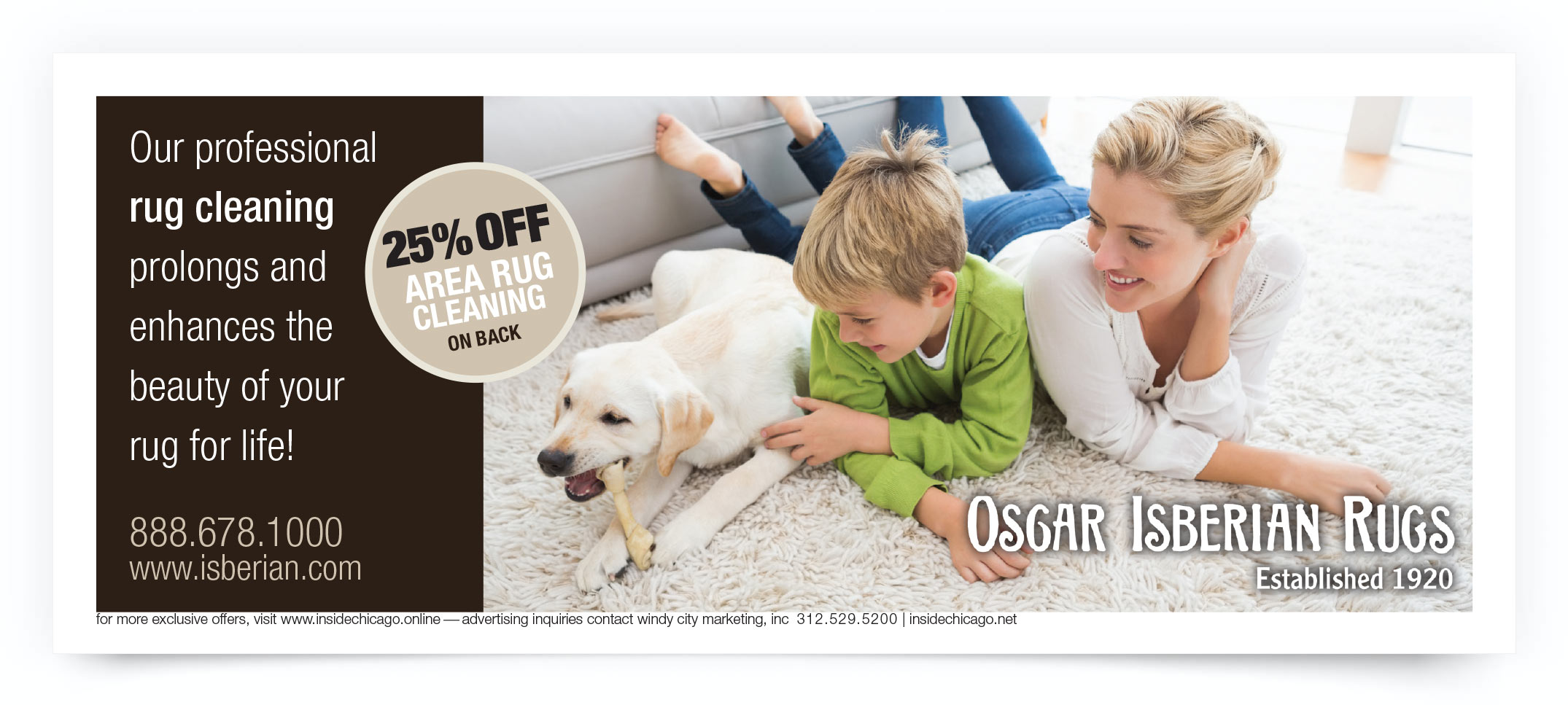 Oscar Isberian Rugs Chicago Coupon Intro
