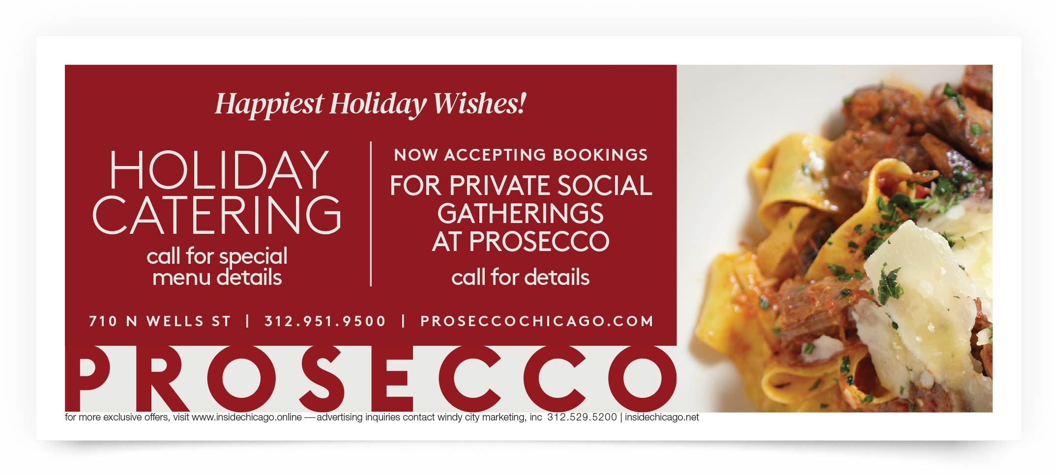 Prosecco Chicago Coupon Offer