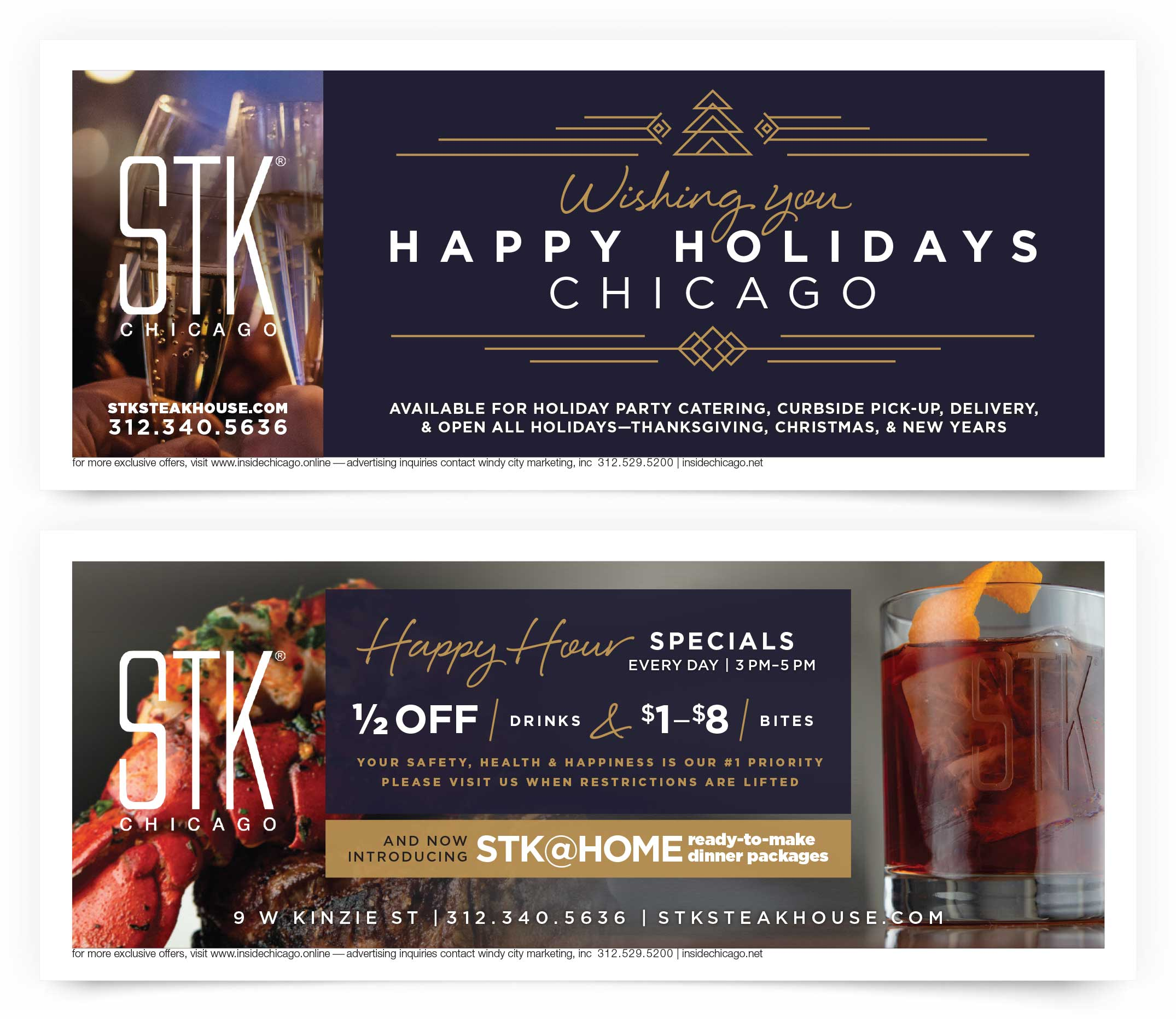 STK Steakhouse Chicago Coupon