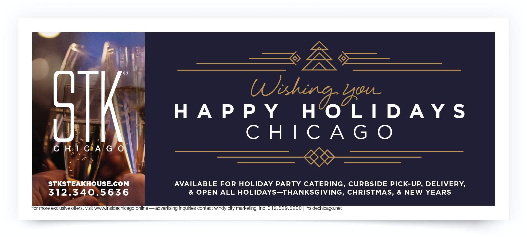 STK Steakhouse Chicago Coupon Intro