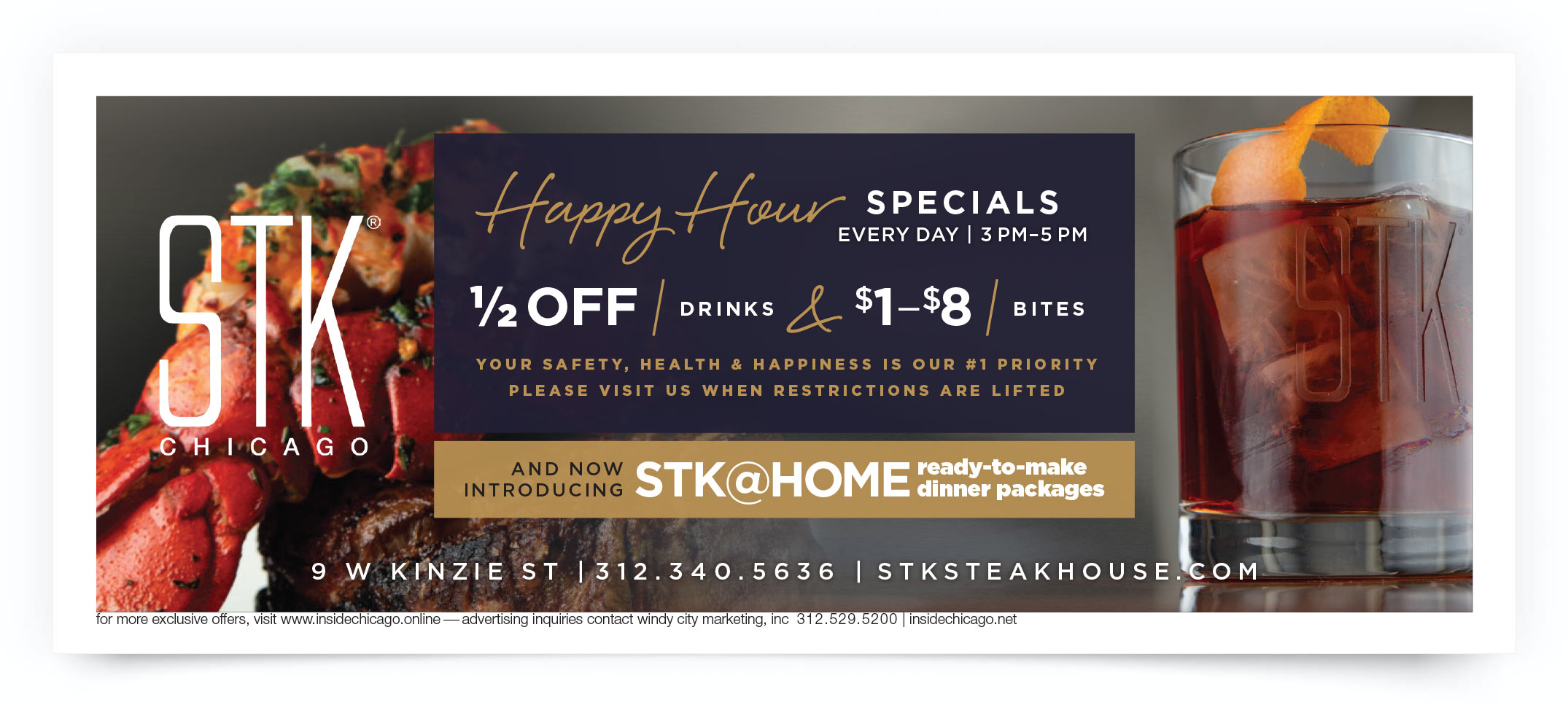 STK Steakhouse Chicago Coupon Offer