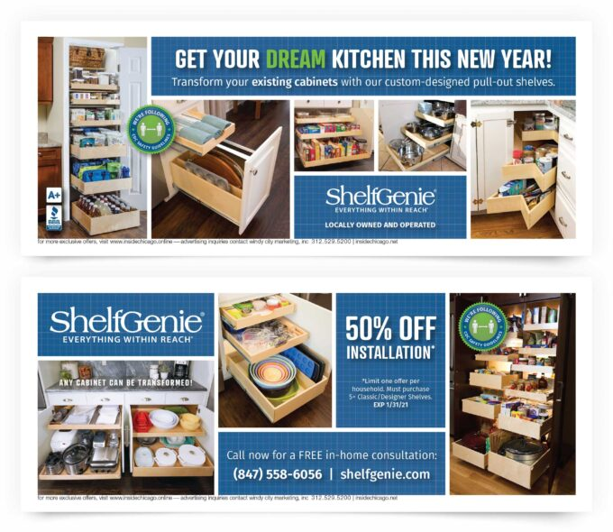 Shelf Genie Chicago North Coupons