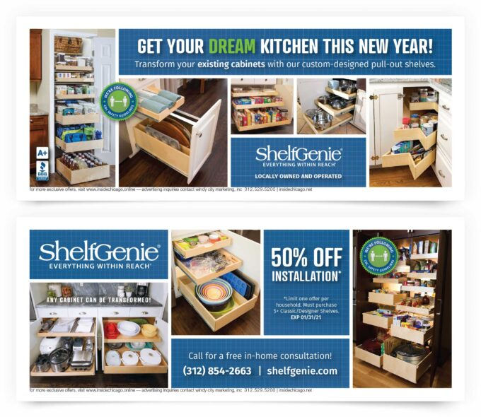 Shelf Genie Chicago South Coupons