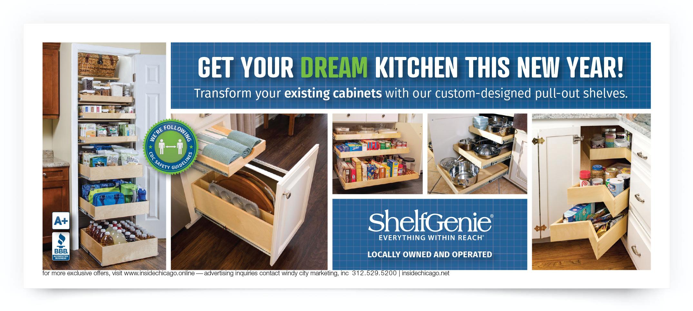 Shelf Genie Chicago South Coupon Intro