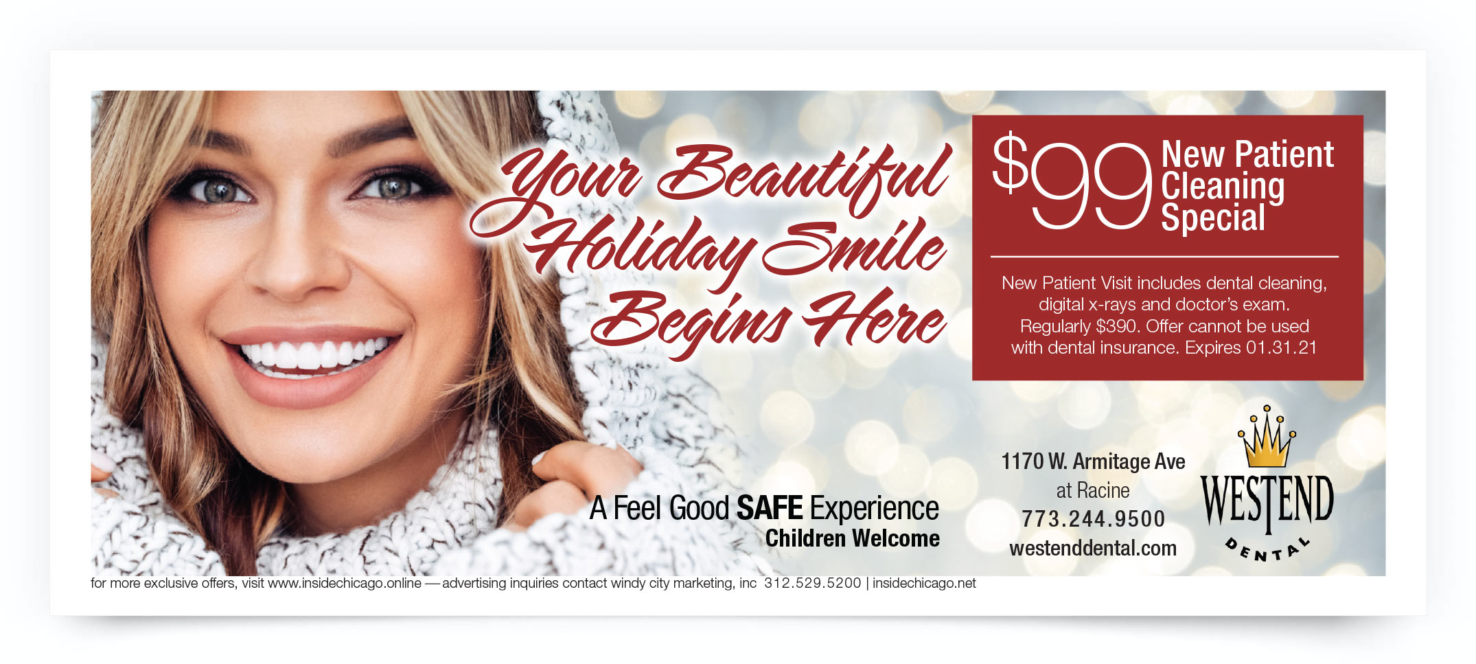 Westend Dental Chicago Coupon Intro