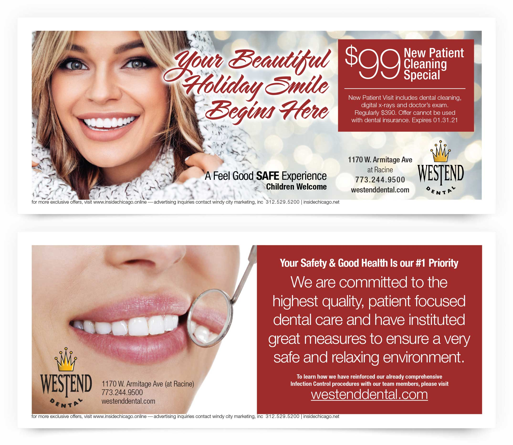 Westend Dental Chicago Coupons