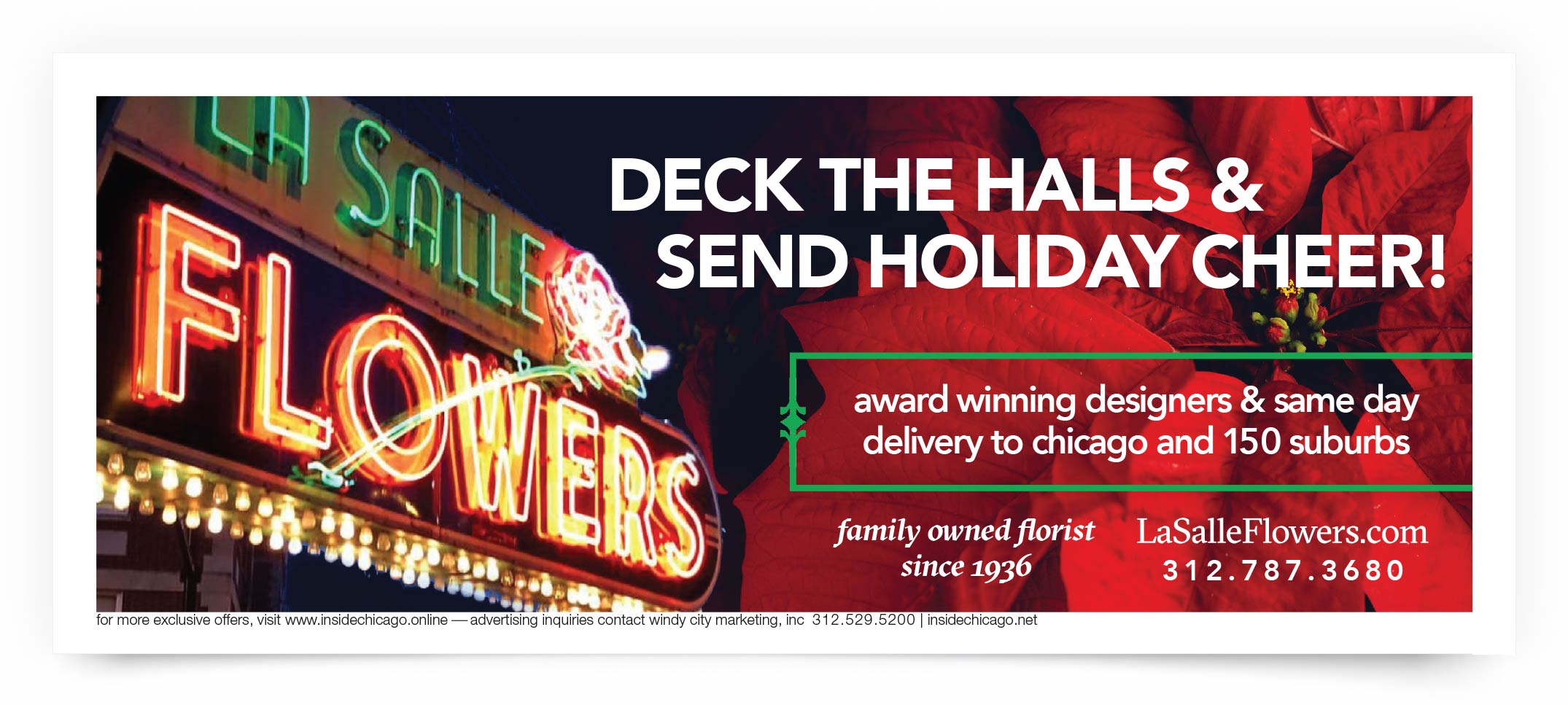 Lasalle Flowers Chicago Coupon intro
