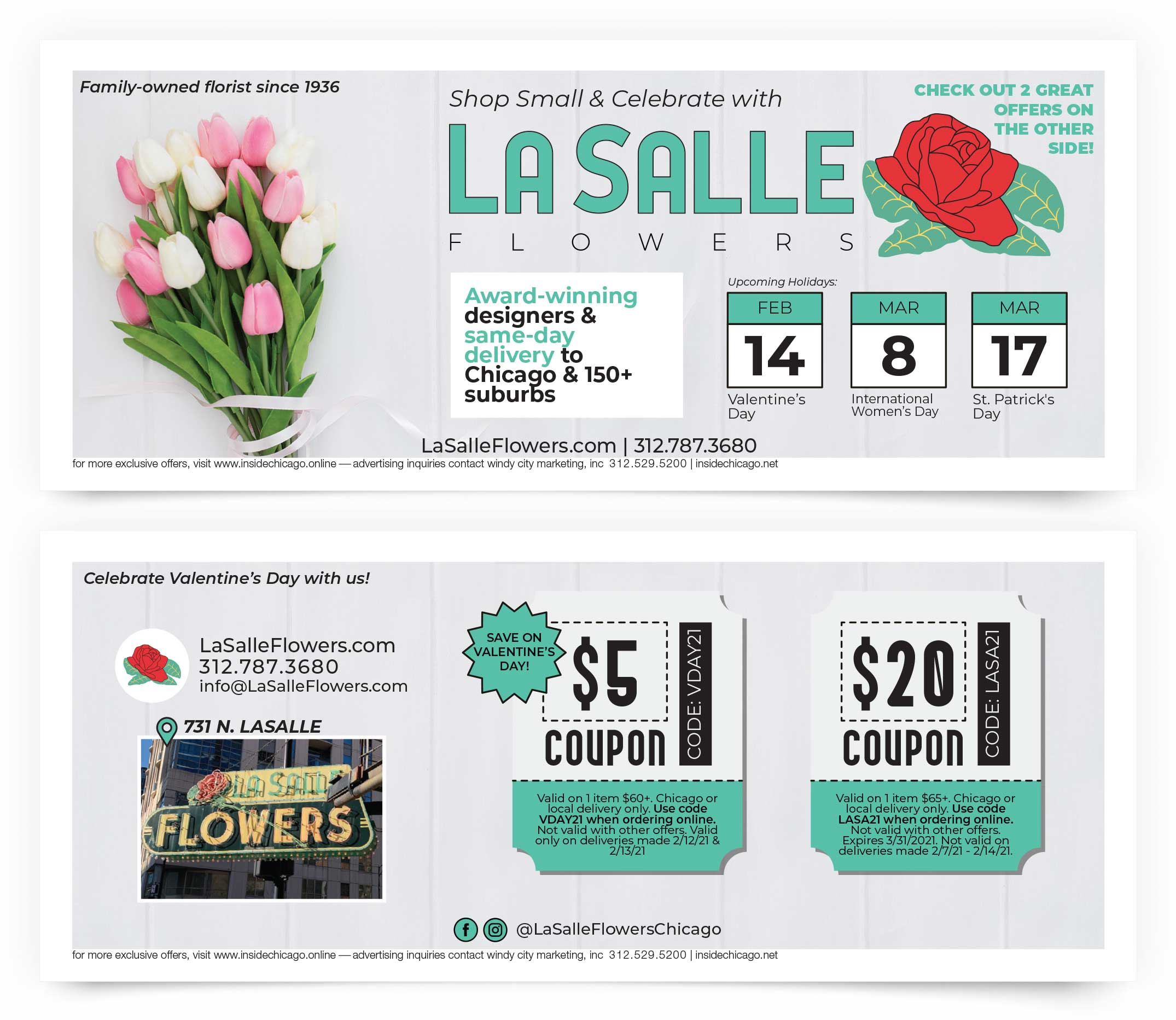Lasalle Flowers Coupons