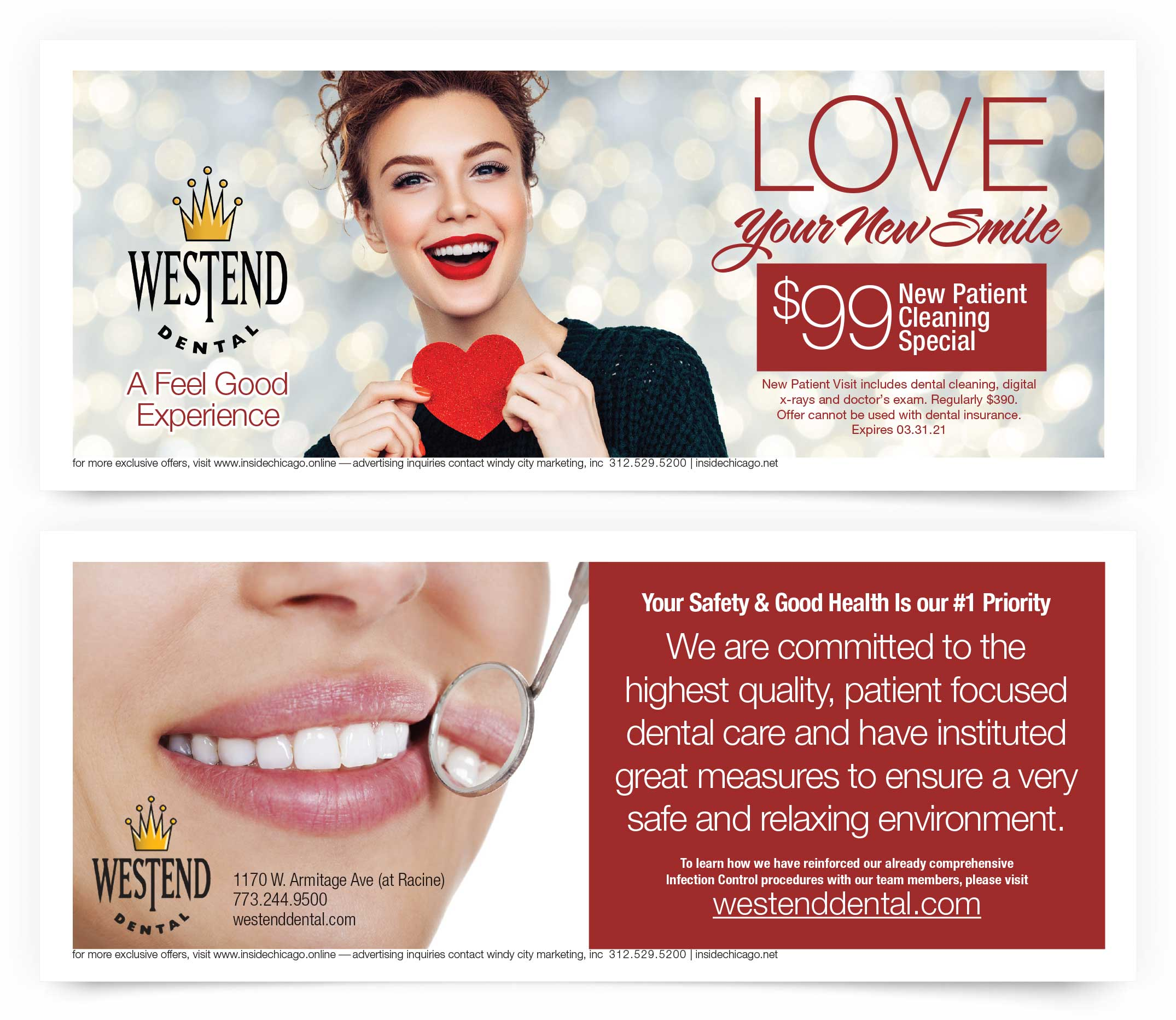 West end Dental Coupons